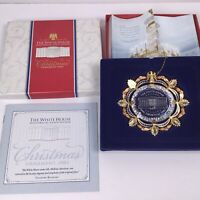 2002 The White House Historical Association Christmas Ornament. T5