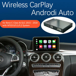 Carplay Android Auto Interface Decoder for Mercedes Benz C W205 GLC 2015-2018