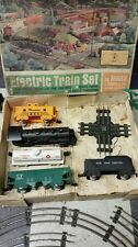 Lionel and marx model train engines and cars