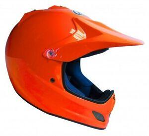 Arai VXPro VX PRO JUNIOR Kids Motocross MX Offroad Race Helmet Orange Youth