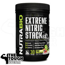 NUTRABIO - EXTREME NITRIC STACK 30serv - Kiwi Strawberry - Muscle Growth