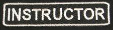 INSTRUCTOR Iron-On Patch/Badge for Karate/Taekwondo/Judo Uniform T-Shirt 25P