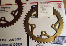 SUGINO CSS III  GOLD MTB 44T x 94 BCD HARD ANODIZED CHAINRING NEW OLD STOCK