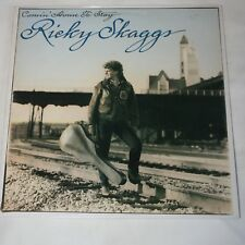 RICKY SKAGGS - COMIN' HOME TO STAY. (UK, 1988, ORIGINAL, EPIC, 460692 1)