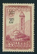 FRENCH ANDORRA 1935 MINT #64 !!  BF118