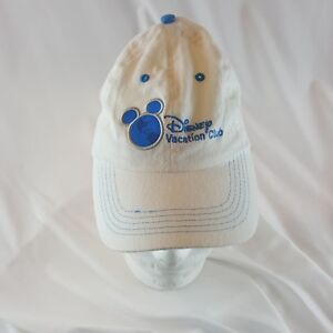 Walt Disney World Baseball Cap Hat White Blue Adjustable Disney Vacation Club