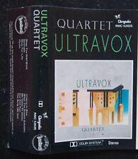 Cassette - Ultravox, Quartet - 1982 Chrysalis C52025