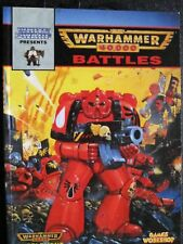 Warhammer 40,000 Battles Second Edition Battle reports mid 90s OOP