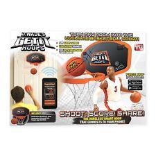 D. Wade's™ Get it Hoops Indoor Wireless Mini Basketball Hoop As Seen on TV NEW!