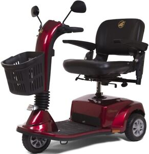 Golden Companion 3 Wheel Mobility Electric Scooter 350 LBS Red GC240C Brand New
