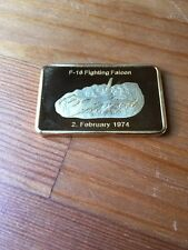 USAF F16 FIGHTING Falcon Challenge Coin FB6