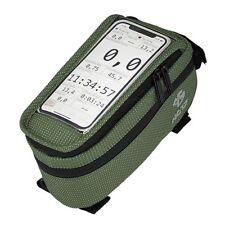 NC-17 Connect Smartphone Tasche XL für Oberrohr grün
