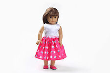 hot model clothes dress for 18inch American girl doll party b122