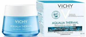 VICHY AQUALIA THERMAL REHYDRATING CREAM - GEL #50 ML #NEW