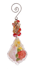 Ganz Multicolored Inspirational Glass Keepsake Ornament - Thank You #ACRYE-15