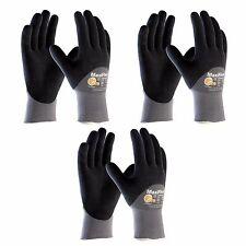 Maxiflex Ultimate 34 875 34 Dip 3 Pair Pack Nitrile Grip Gloves Sizes S Xl