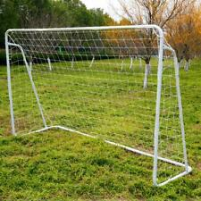 8' x 5' Steel Frame Soccer Goal Net Soccer Goal Sports Quick Easy Setup Training