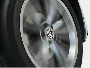 Original VW Nabenkappen für LM-Felge, 000071213C stehendes Emblem; dynamisch