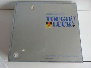 1987 Tough Luck!  Board Game. Complete