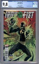 Iron Fist #1  J. Scott Campbell Edition Venomized Variant Midtown Comics CGC 9.8