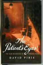 THE PATIENT'S EYES by David Pirie, rare British Sherlock Holmes hardcover in DJ