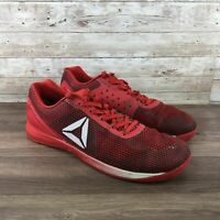 Reebok Crossfit Nano 7 Mens Size 13 Red Athletic Cross Training Running Shoes