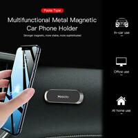 1pc Strip Shape Magnetic Car Phone Holder For iPhone Magnet Mount Accessories