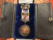 Spanish American War veteran medal in original case