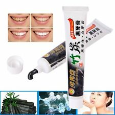 Bamboo Charcoal Black Whitening Toothpaste White Teeth Tooth Paste 100% Natural