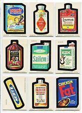 1979 Topps Wacky Packages Complete 2nd Series 2 66 sticker Card Set NM-