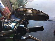 Harley Dyna softail Sportster Custom reposapiés set Bullet style cromo
