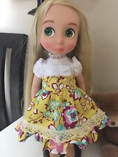 Disney Animator 16 inches  Doll Clothes - Love Lime Green Flower Dress