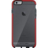 Tech21 Evo Mesh Case for Apple iPhone 6 Plus/6S Plus (Smokey/Red)