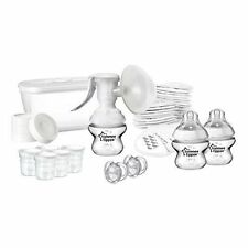 Tommee Tippee  CTN  Breast Feeding Kit includes manual breast pump   bpa free
