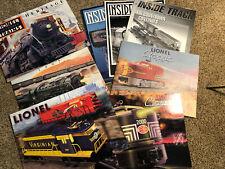 Lionel Train Catalogs: 1997 Classic~Heritage~Inside Track Club~Centennial