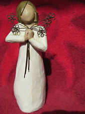 WILLOW TREE FRIENDSHIP FIGURINE HAND CARVED PAINTED VALINTINE DAY GIFT