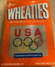 Vtg Wheaties U.S. Olympic Team USA Pin Unopened 1996 Collectible Edition Cereal