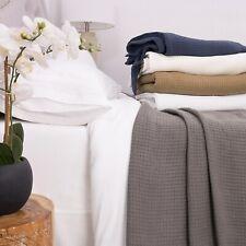 Cotton Basket Weave Blanket 100-percent Cotton