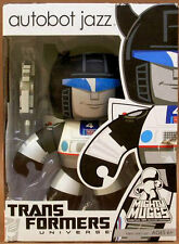 "TRANSFORMERS MIGHTY MUGGS Collection_Autobot JAZZ 6"" Vinyl figure_New & Unopened"