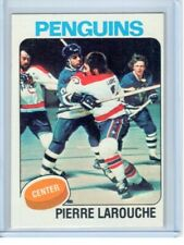 1975-76 Topps Hockey - PIERRE LaROUCHE - RC #305 - NM-MT - Penguins Rookie Card