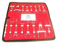 Professional Body Piercing 16 Piezas Herramientas Kit Set, Piercing kits y suministros Ss * Nuevo *