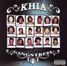 FREE US SHIP. on ANY 3+ CDs! ~Used,Good CD Khia: Gangstress Explicit Lyrics, Hyb