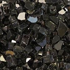 Black Reflective Fire glass for your Gas Fireplace, Gas Logs or Fire Pits