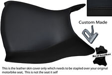 BLACK CUSTOM FITS BMW R 1150 R R1150R FRONT LEATHER SEAT COVER