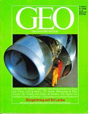GEO – Das neue Bild der Erde – Ausgabe 7 / 1986