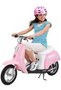 Razor Pocket Mod Bella 24V Electric Girl Scooter - Pink (Open Box)