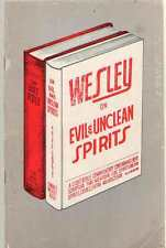 Wesley On Evil And Unclean Spirits A Light Bible Commentary Containing Every Scr