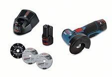 Bosch Meuleuse angulaire sans fil GWS 12v-76 Professional avec 2 Batteries 3 0