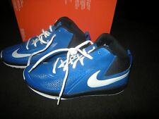 New Boys Blue & Black Nike Team D Hustle Tennis Shoes, Size 6