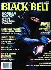 6/86 BLACK BELT GUARDIAN ANGEL CURTIS SLIWA NINJA KARATE KUNG FU MARTIAL ARTS